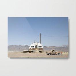 We Wash Arizona desert Metal Print