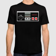 Classic retro Nintendo game controller iPhone 4 4s 5 5c, ipod, ipad, tshirt, mugs and pillow case Mens Fitted Tee Black 2X-LARGE