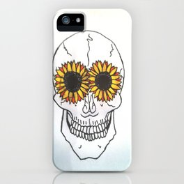 Smiling Skull iPhone Case