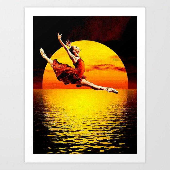 Shadow Dancer 2 Art Print