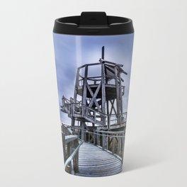 Observation Tower - Great Salt Lake Shorelands Preserve - Utah Metal Travel Mug