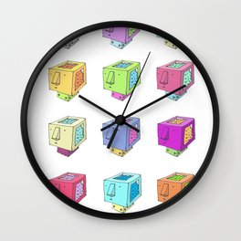 Cubeheds ( available for t-shirts ) Wall Clock