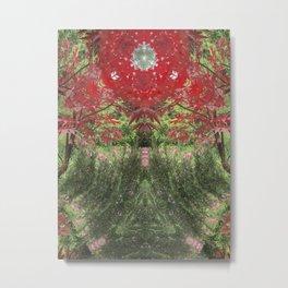 The Woodland Glade Metal Print