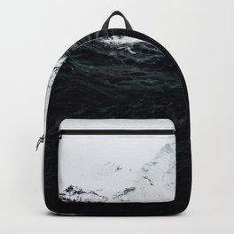 Those waves were like mountains Backpack