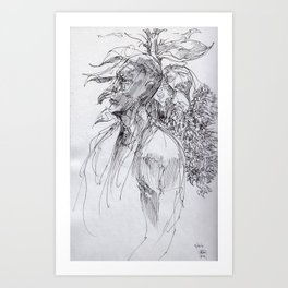 Bush Dweller Art Print