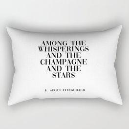 among the whisperings Rectangular Pillow