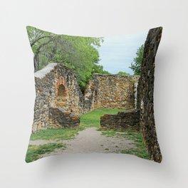 Mission Espada Vi Throw Pillow