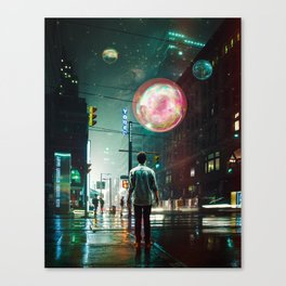 All Of A Sudden Canvas Print