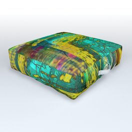 It Takes A Memory Outdoor Floor Cushion