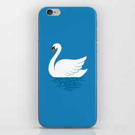 Just The One Swan Actually iPhone Skin
