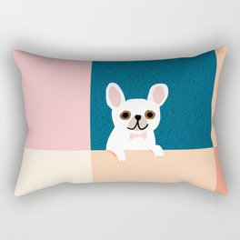 Little_French_Bulldog_Love_Minimalism_001 Rectangular Pillow