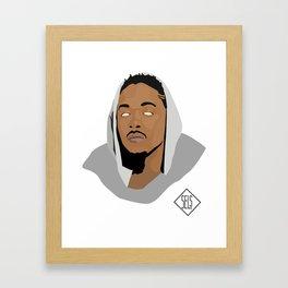 Kendrick Lamar V.2 Framed Art Print