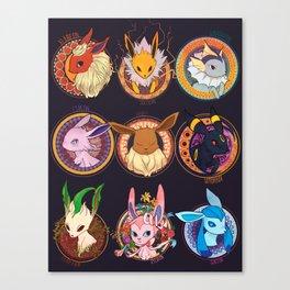 Eevee Canvas Print