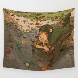 La rivière aux tortues Wall Tapestry