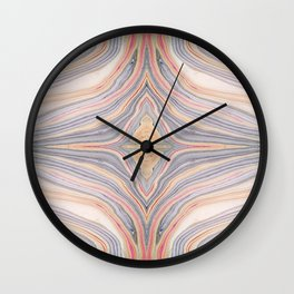 Fruit Salad Marble Wall Clock