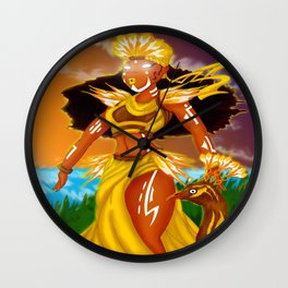 Oshun Wall Clock