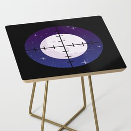 Aim for the Moon Side Table