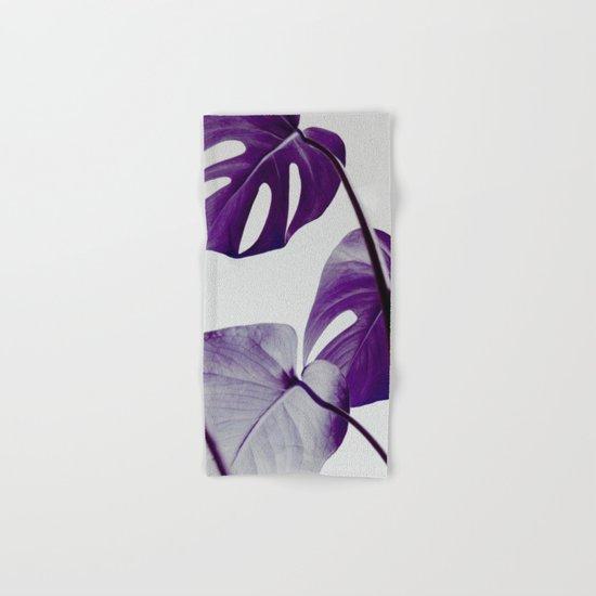 botanical vibes III Hand & Bath Towel