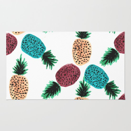 Weird Pineapples Rug