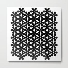 Mod Flower Power Metal Print