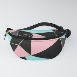 Abstraction . 5 geometric pattern Fanny Pack