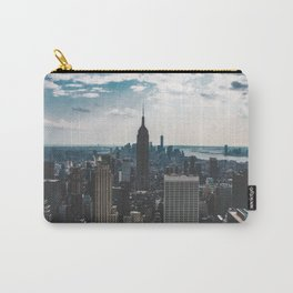 NEW YORK - CITY MANHATTAN - EMPIRE STATE BUILDING - PHOTOGRAPHY Carry-All Pouch