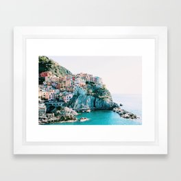 HEAVEN IS A PLACE ON EARTH Framed Art Print
