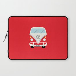 Surf's Up Minimal Bus Laptop Sleeve