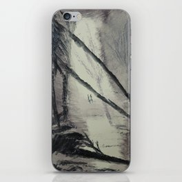 Mysterious forest iPhone Skin