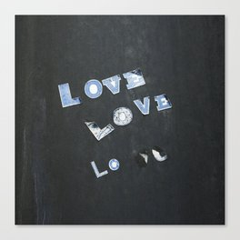 Love Love Lo Canvas Print