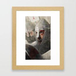 The Crusader Framed Art Print