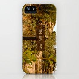 """""""Rim Trail"""" iPhone Case"""