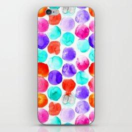Watercolour Spots iPhone Skin