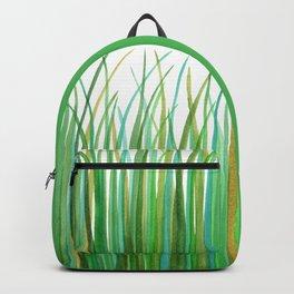 Green Grasses Backpack
