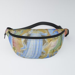 """Fra Angelico (Guido di Pietro) """"The Dormition and Assumption of the Virgin"""" (1) Fanny Pack"""