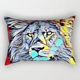 Color Kick Lion King Rectangular Pillow