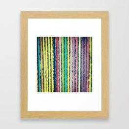 RAINBOW IN MTL Framed Art Print