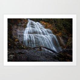 Bridal Falls Art Print