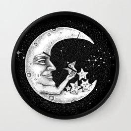 the Moon - Star doctor Wall Clock