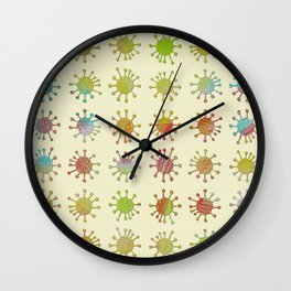DP038-4 grungy critter Wall Clock