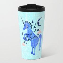 Night Sky Unicorn - Stars and Moon Travel Mug