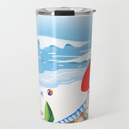 Beach Holiday - Part 3 Travel Mug