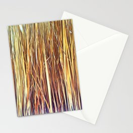 434 - Abstract grass design Stationery Cards