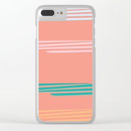 straws Clear iPhone Case