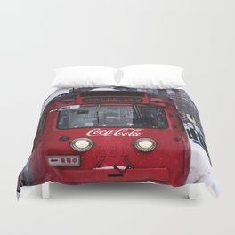 China Coca Cola Duvet Cover