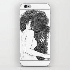 asc 590 - Le peigne (Combing her hair) iPhone & iPod Skin