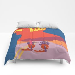 Easy Rider Poster Comforters