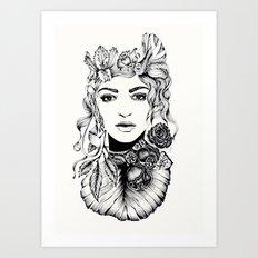 Nature Woman Art Print