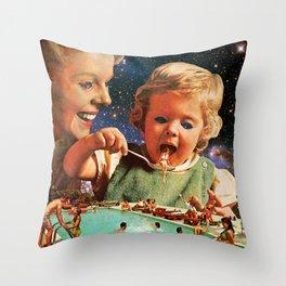 Eat Up Throw Pillow