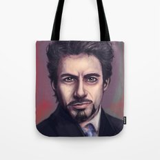 Tony Stark Tote Bag